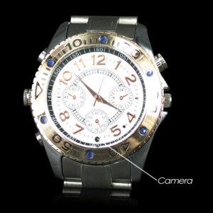 4GB High Resolution Spy Camcorder Wrist Watch